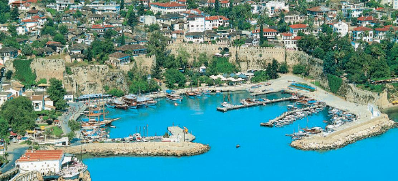 Antalya- Alter Hafen und Altstadt