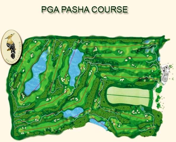Antalya Golf Club in Belek- Pasha Course