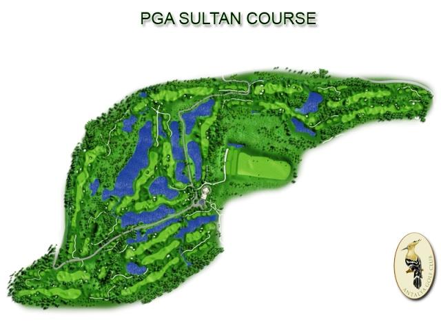 Antalya Golf Club in Belek- Sultan Course