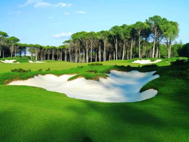 Carya Golfclub in Belek