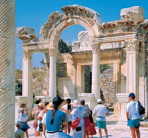 Bibliothek in Ephesus-Türkei