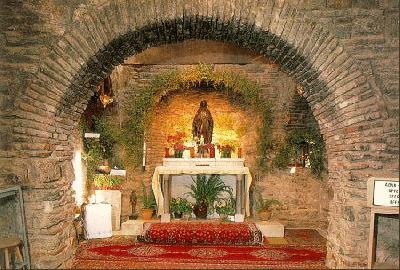 Ephesus-Türkei-Haus von Heiliger Maria