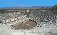 Geschichte in der Türkei-Amphitheater-Türkei Ferien Last Minute buchen