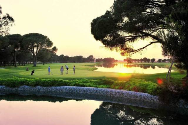 Gloria Golfclub in Belek