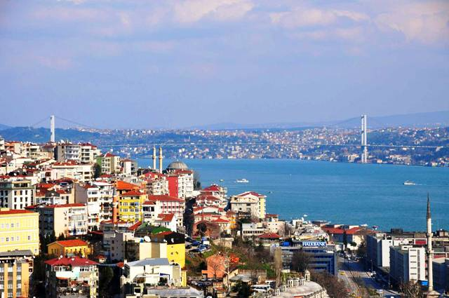 Istanbul Hotels  günstig buchen-Istanbul-Blick auf die Stadt