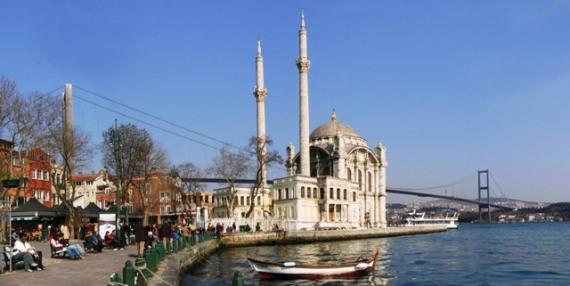Istanbul Hotels günstig buchen-Bosphorus Brücke