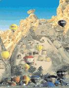 Kappadokien-Ballonfahrt