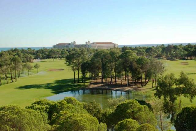 Kaya Eagles Golfclub in Belek