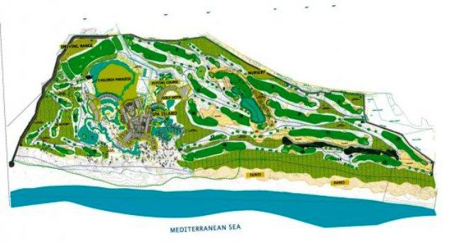 Lykia Links Golfclub in Belek