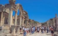 Bibliothek in Ephesus der Türkei