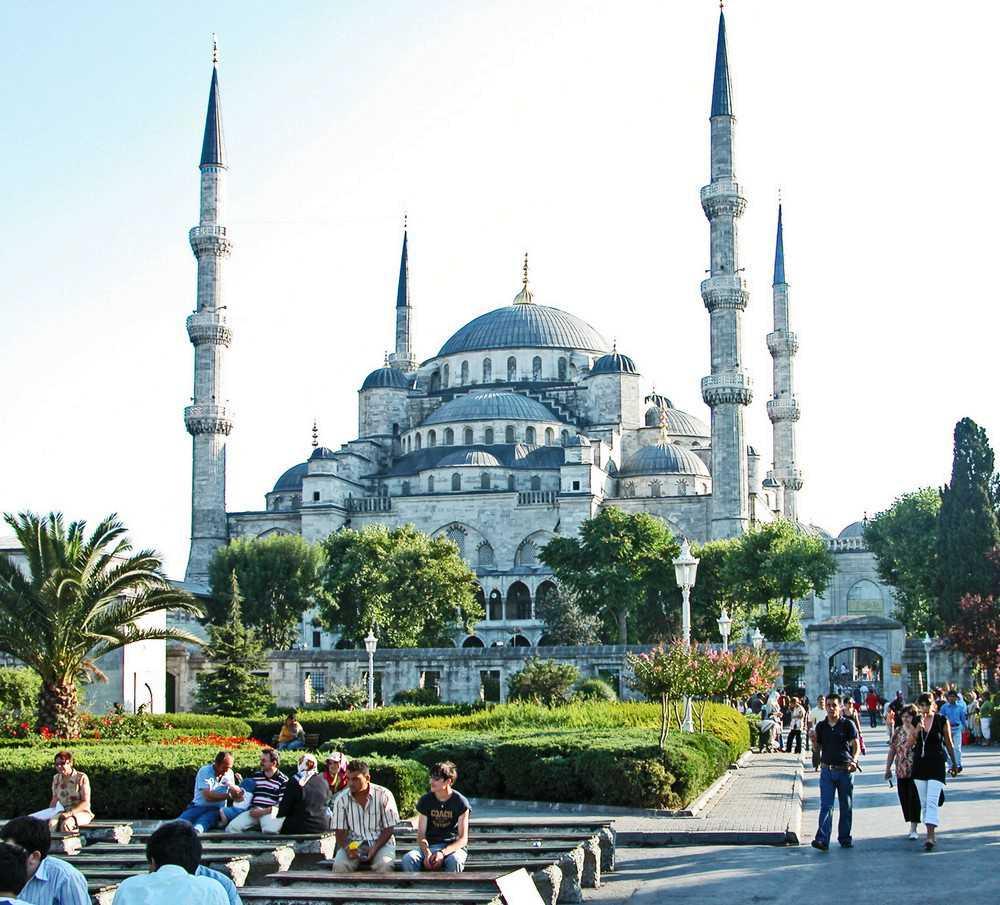 Blaue Moschee Istanbul in der Türkei-Türkei Ferien Last Minute buchen