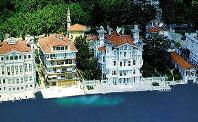 Blick auf Bosphorus in Istanbul