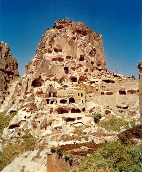 Türkei-Kappadokien Reise-Höhlenwohnungen