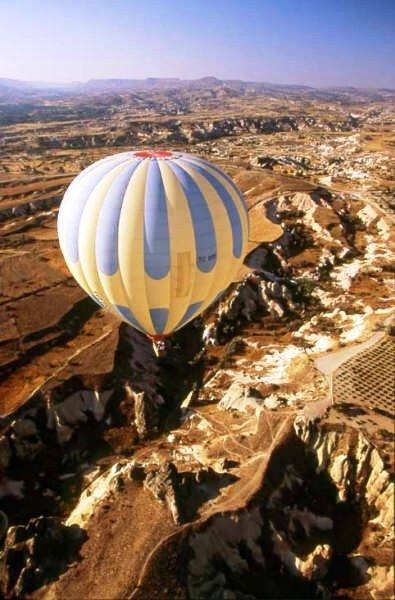 Türkei-Kappadokien Reise-Ballonfahrt