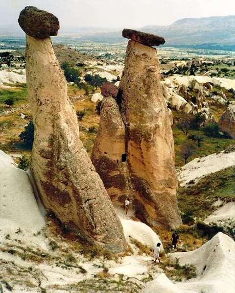 Türkei-Kappadokien Rundreise-Mondlandschaft