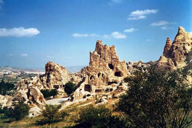 Türkei-Kapadokien Rundreise-Höhlenwohnungen