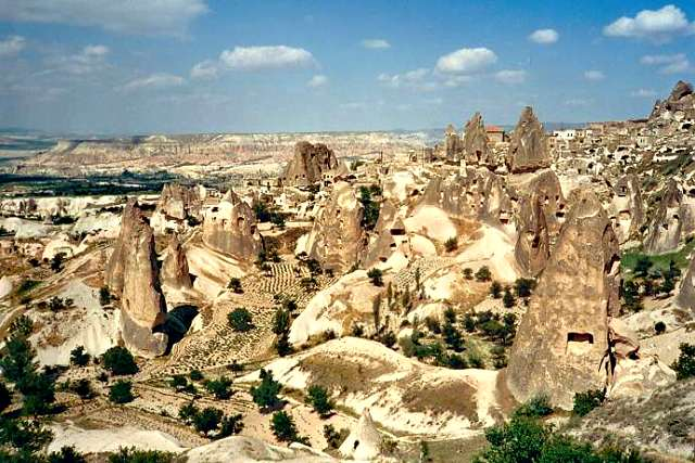 Kappadokien Reise-Höhlenwohnungen