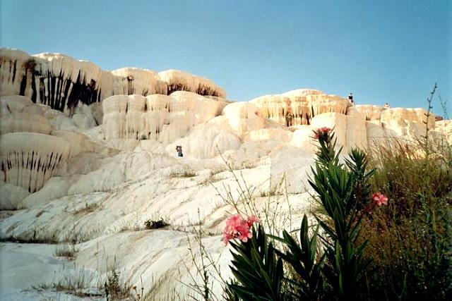 Impressionen von den Pamukkale Kalksteinterrassen