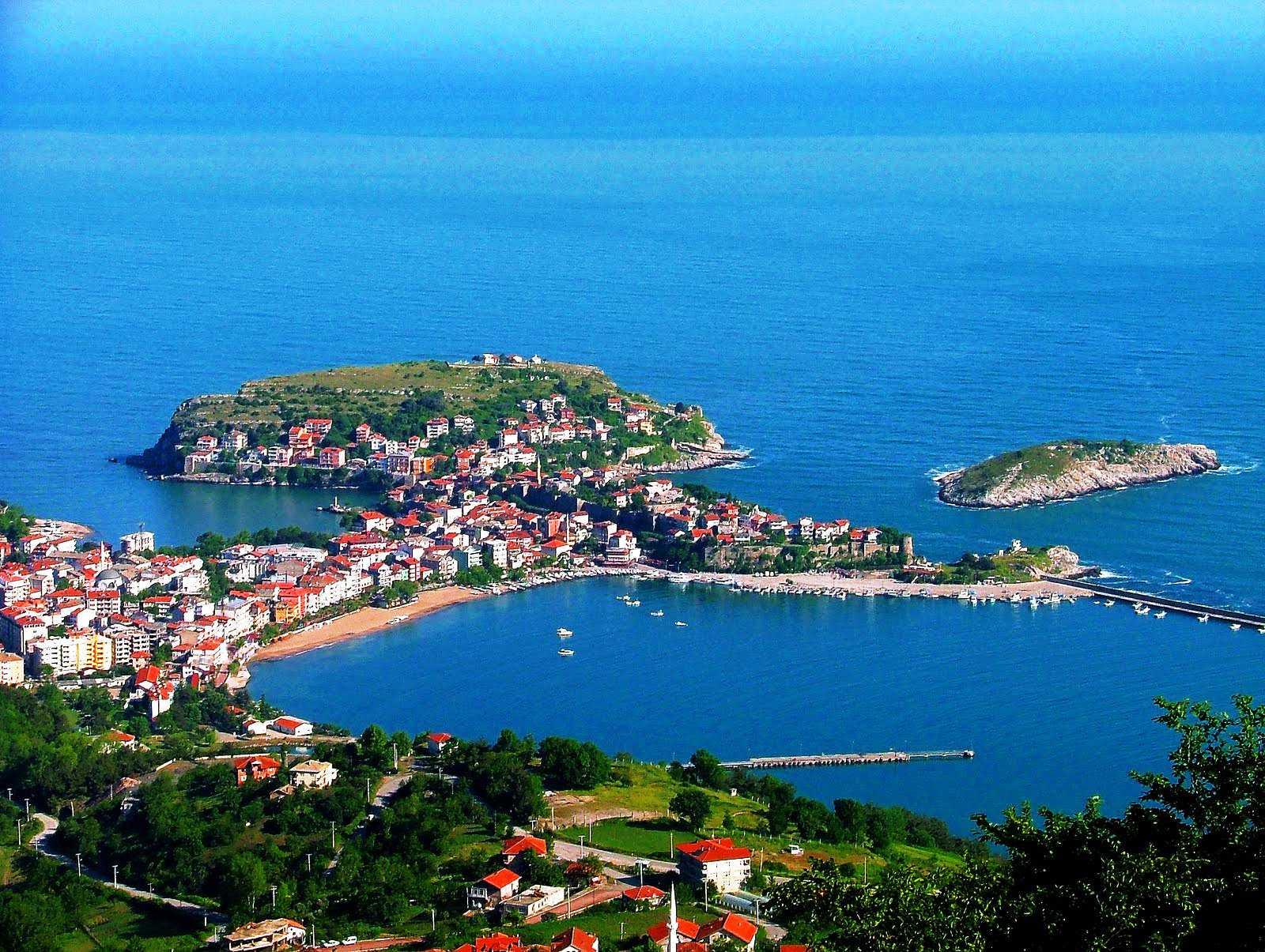 Amasra-Schwarzmeerküste der Türkei