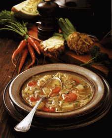Türkische Spezialitäten- Suppe