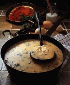 Türkische Küche-Türkische Suppe