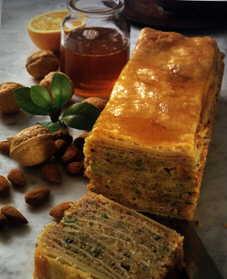 Türkische Küche- Baklava