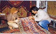 Teppichgeschäft in der Türkei-Last Minute Türkei Ferien buchen