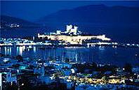 Blick auf die Burg in Bodrum-Türkei Reisen günstig buchen