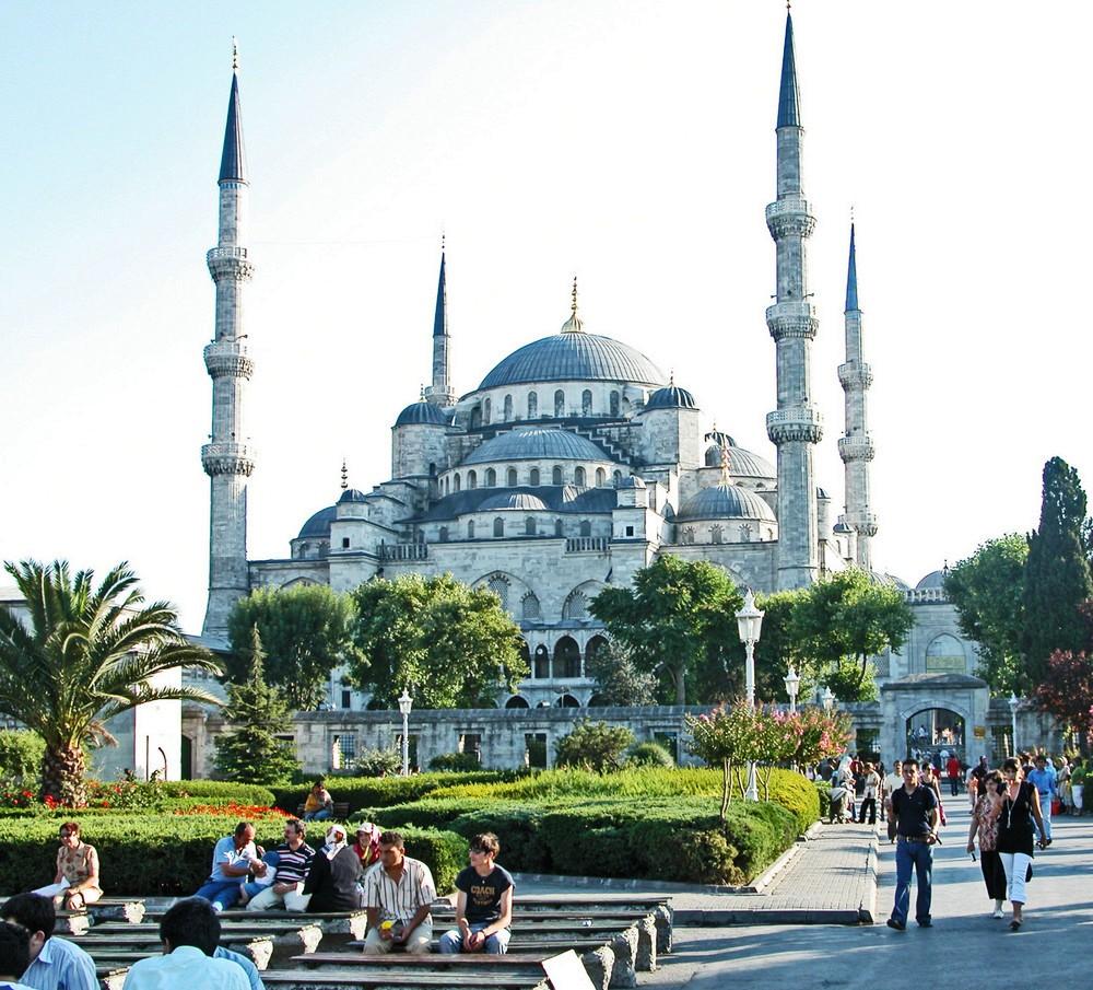Blaue Moschee in Istanbul-Türkei-Istanbul Hotels günstig buchen