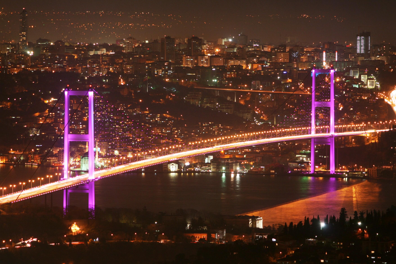 Blick auf Bosphorus in Istanbul-Türkei-Istanbul Hotels günstig buchen