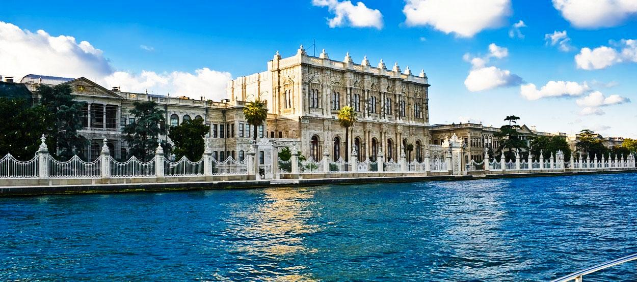 Dolmabahce Palast Istanbul in der Türkei-Istanbul Hotels Last Minute