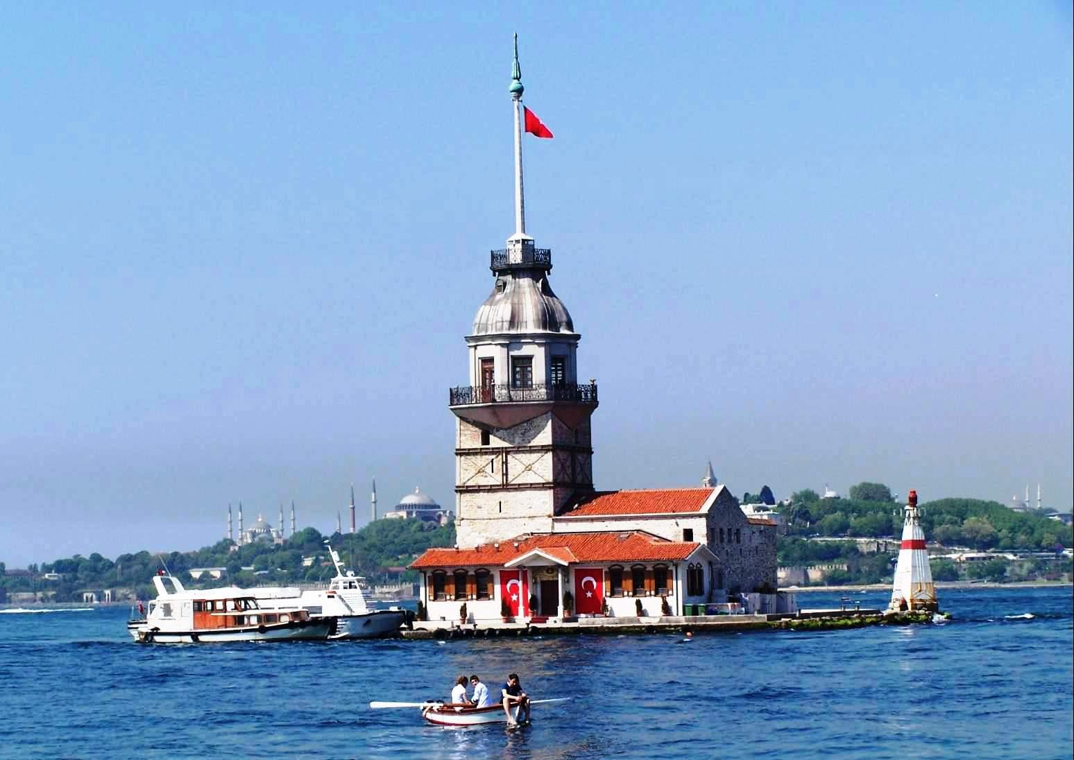 Leanderturm-Kiz Kulesi Istanbul-Türkei-Günstige Istanbul Hotels
