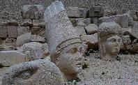Berg Nemrut-Adiyaman-Südostanatolien der Türkei
