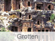 Grotten in der Türkei
