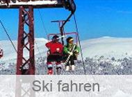 Ski fahren in der Türkei