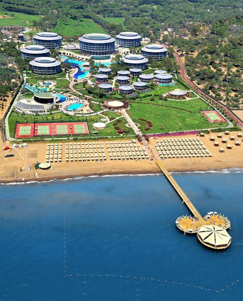 Hotelanlage Calista Luxury Resort direkt am Strand