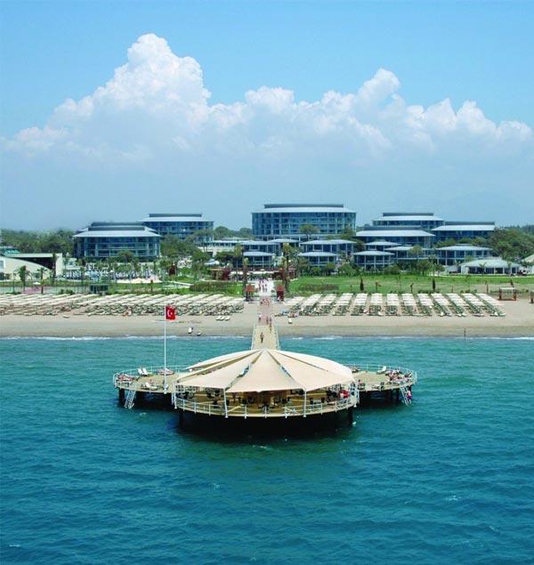 Sonneninsel im Meer des Hotels Calista Luxury Resort in Belek