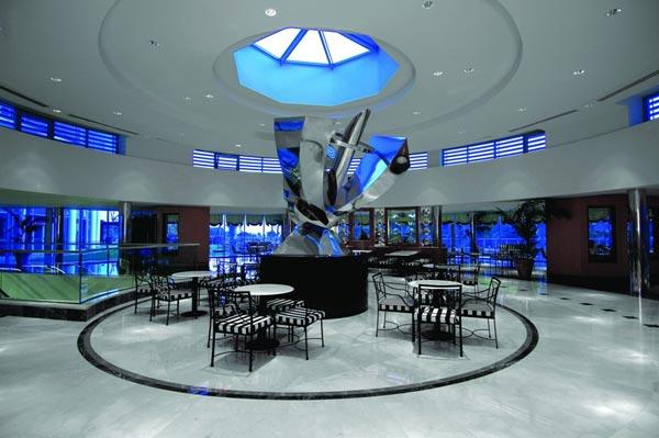 Sitzgelegenheiten im Hotel Calista Luxury Resort in Belek