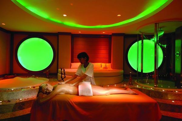 Wellnessbereich im Hotel Calista Luxury Resort in Belek