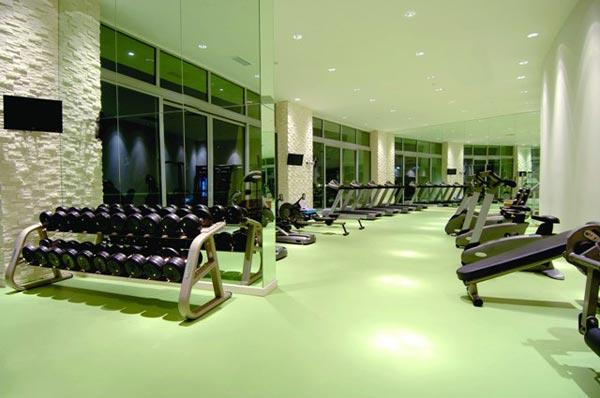 Fitnessräume im Hotel Calista Luxury Resort in Belek
