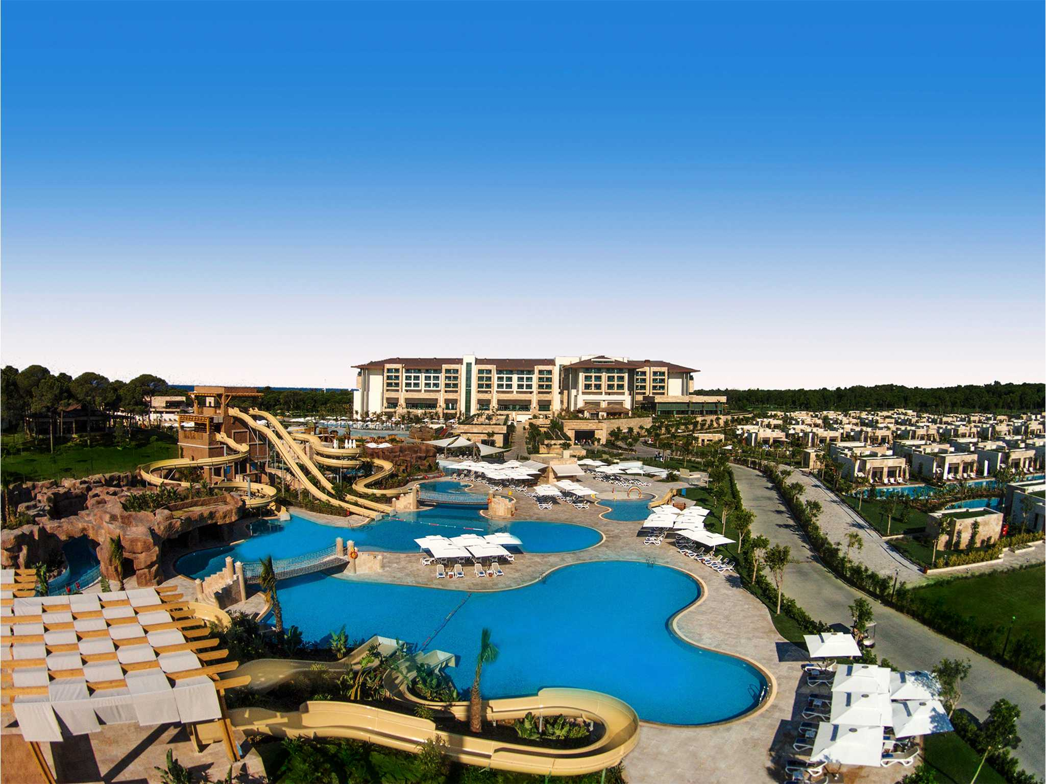Hotel Regnum Carya Golf & Spa Resort Belek-Aquaworld
