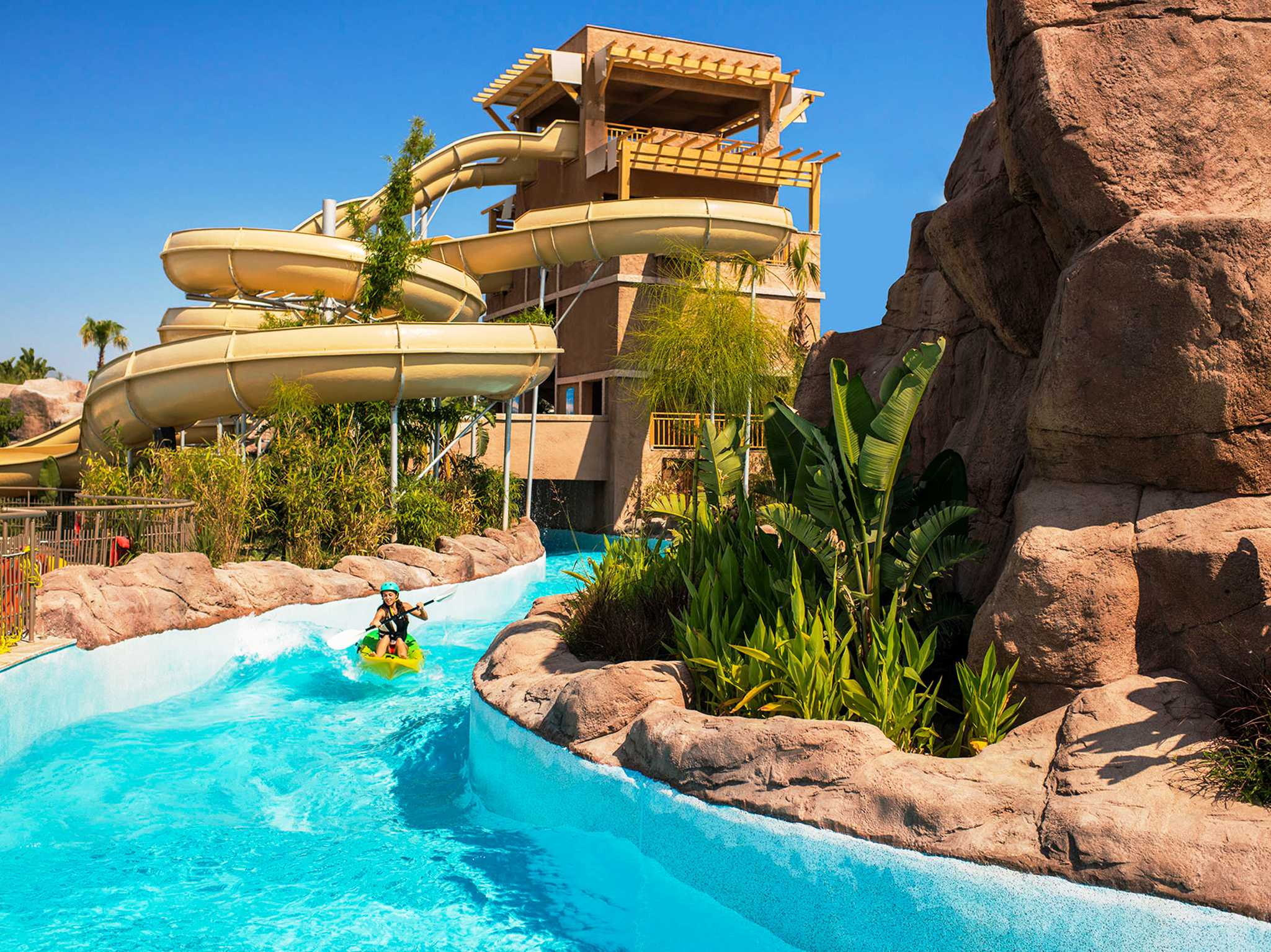 Hotel Regnum Carya Golf & Spa Resort Belek-Aquaworld-Rutschen