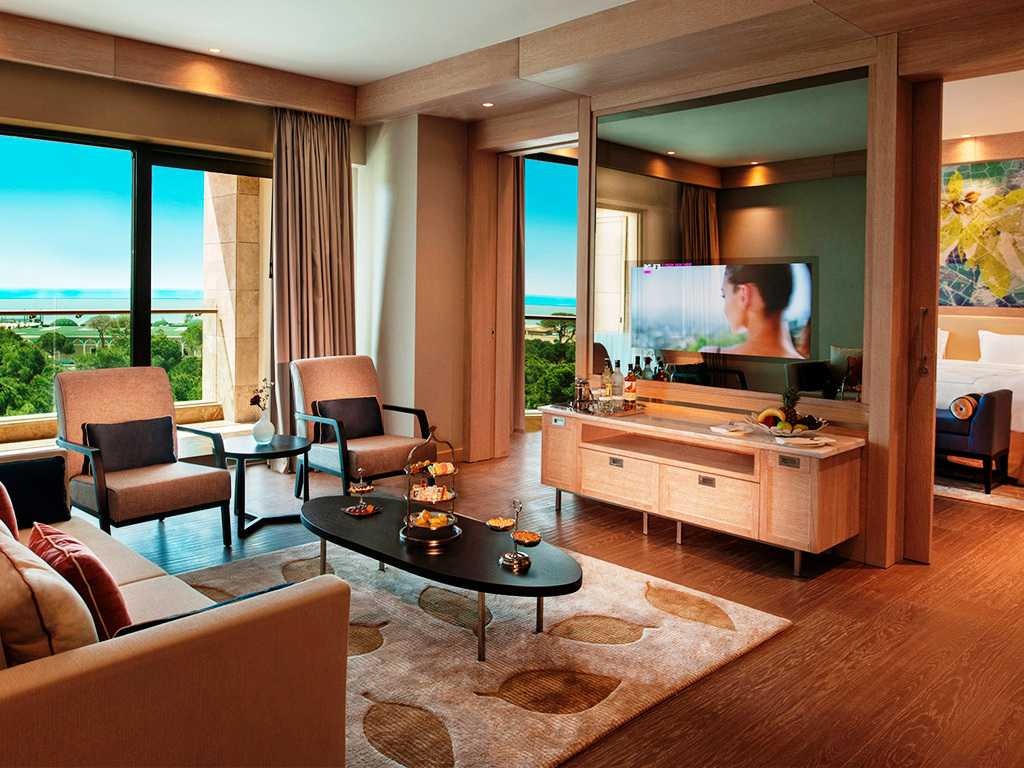 Hotel Regnum Carya Golf & Spa Resort- Belek- Luxury Room Sea View