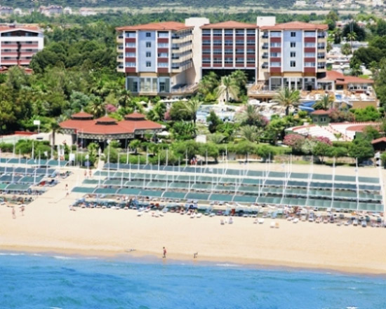 Hotel terrace beach resort in side g nstige last minute for What is a hotel terrace