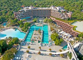 Hotel Xanadu in der Türkei