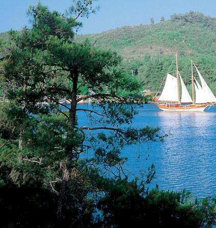 Blaue Reise nach Bodrum-Türkei