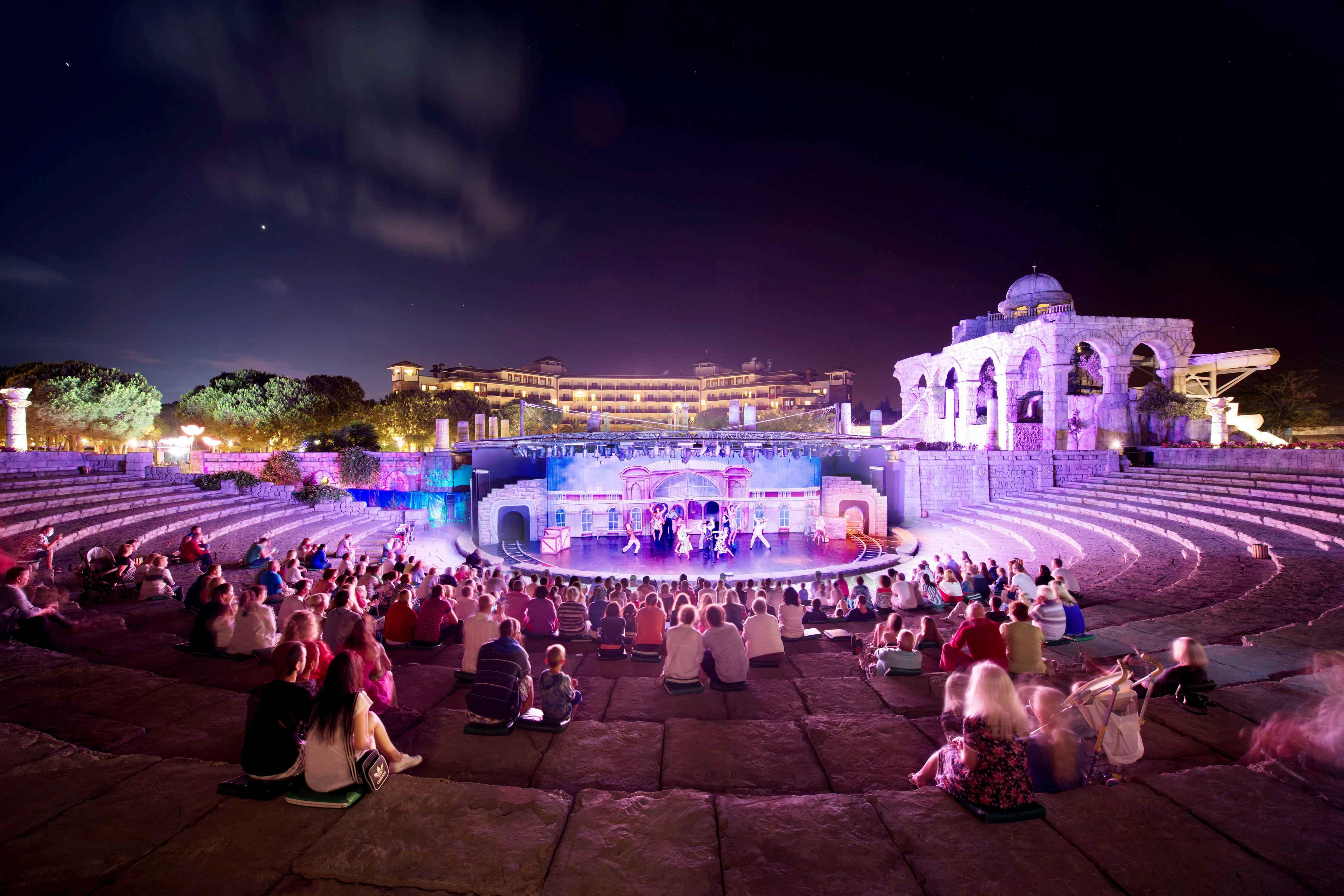 Xanadu Belek-Show im Amphitheater